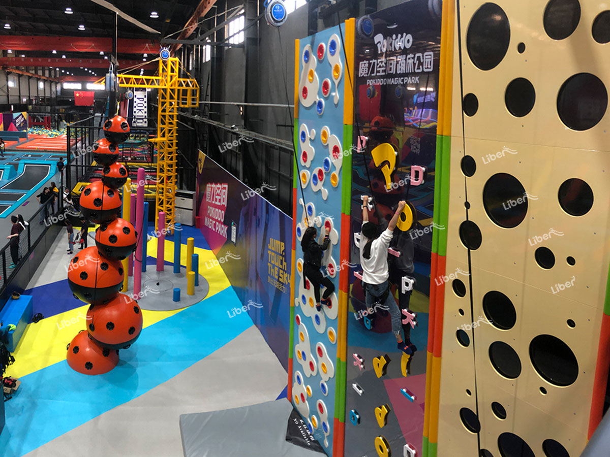 Indoor rock climbing-1