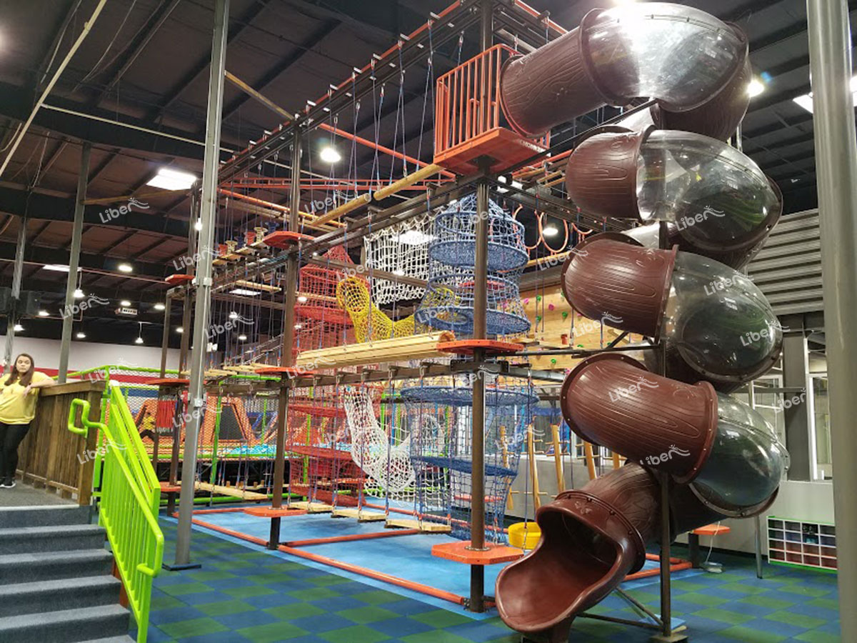 Indoor ropes course-2
