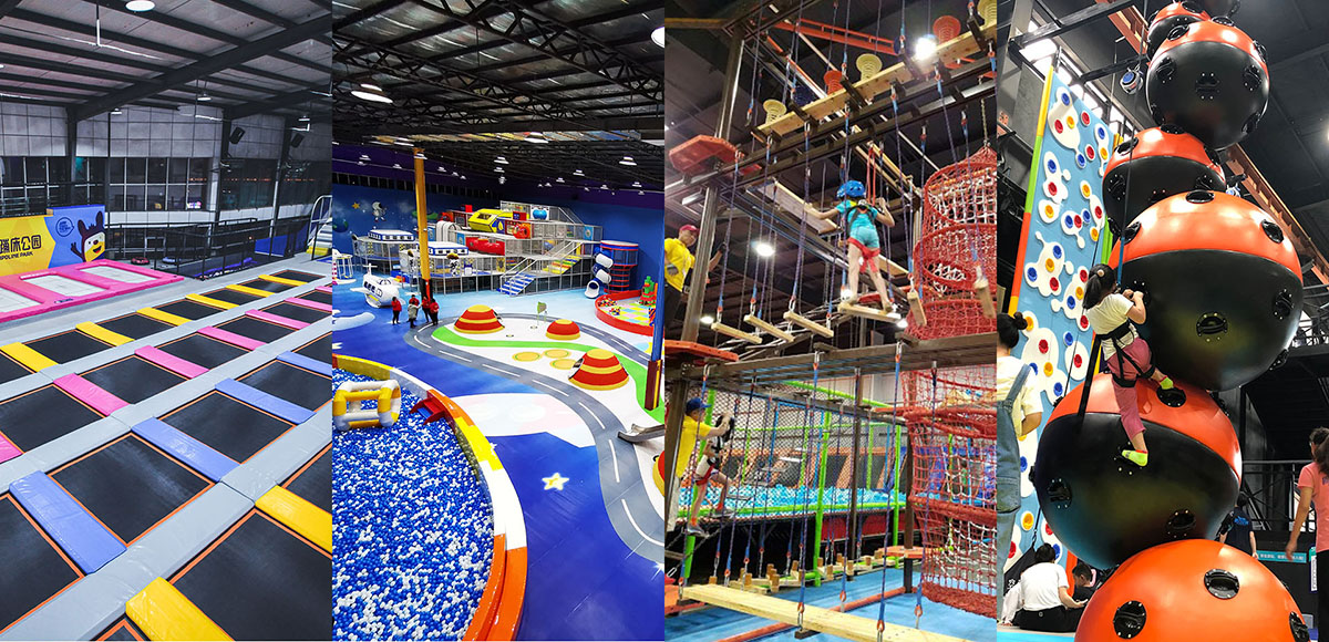 What Areas to Include in a Large Indoor Trampoline Park (2)