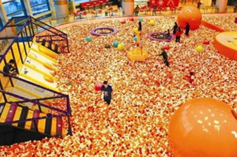 The indoor playground industry has great potential for development