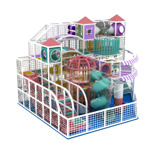 Amusement Park Candy Theme Kids Indoor Playground Equipment