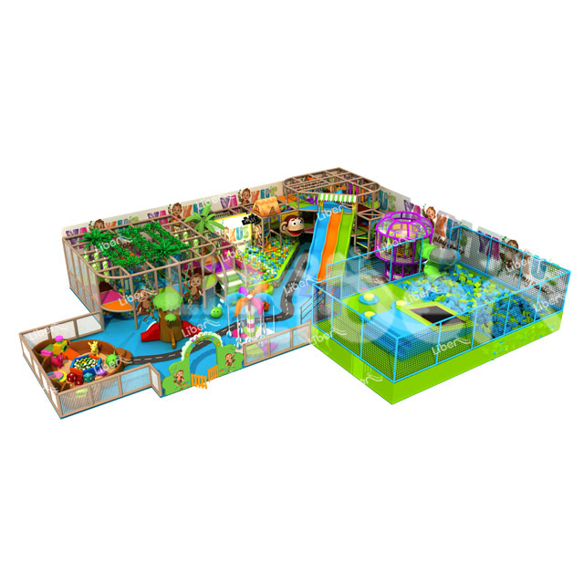 Newest Design Commercial Funny Indoor Playground Soft Play For Children