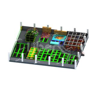 Popular Cheap Adult Commercial Safety Big Indoor Trampoline Park