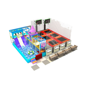 Liben Indoor Trampoline Park Attractions